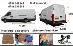 Transport marfa-mobila cu dubite , relocari 0766.363.298