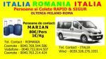 Transport ITALIA-ROMANIA preturi de criza