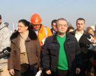 Inaugurare autostrada Arad Timisoara.